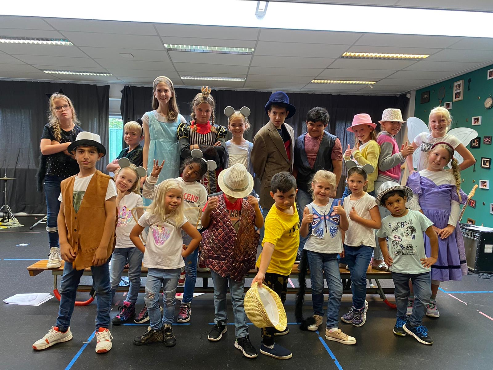 Eindvoorstelling Alice in Wonderland 2020